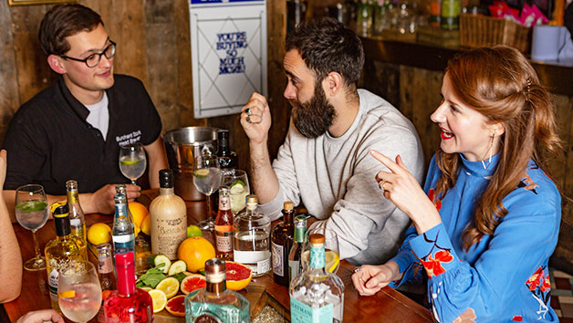 Gin Masterclass And A Meal From The Academy Menu For Two At Brewhouse And Kitchen