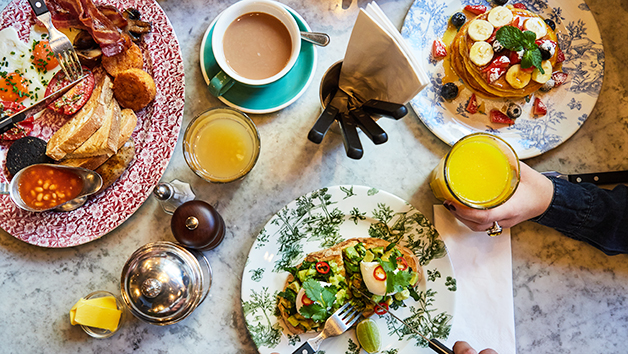 Breakfast And Coffee For Two At Bills Restaurant