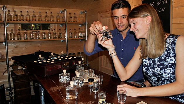 Buy Gin Distilling and Tasting Experience at The Bespoke Gin Company for One
