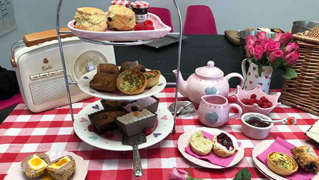 Traditional Afternoon Tea At Home For Four With Piglets Pantry