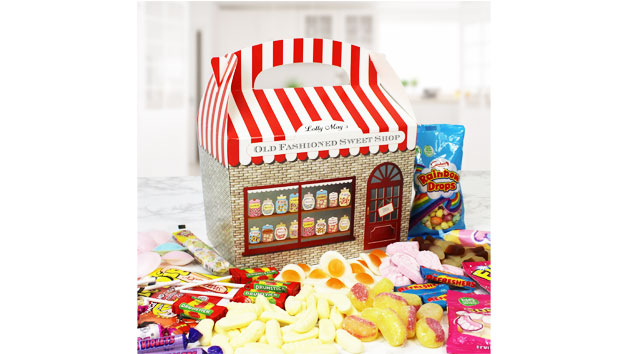 Old Fashioned Personalised Sweet Box