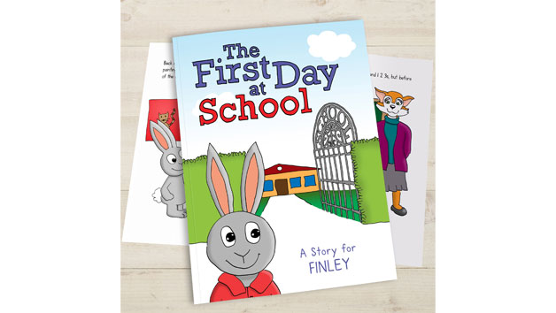 Personalised The First Day At School Storybook