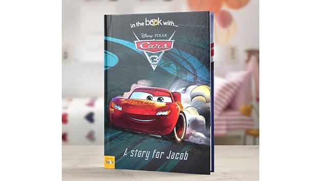 Personalised Cars 3 Disney Storybook