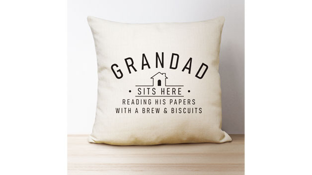 Personalised Linen Cushion