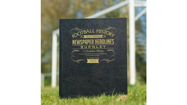 Burnley Football Newspaper Book