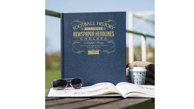 Chelsea Football Newspaper Book