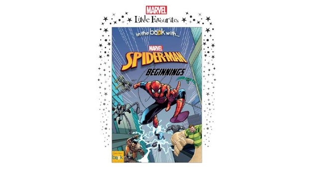 Marvel Little Favourites   Spider Man Beginnings Personalised Book