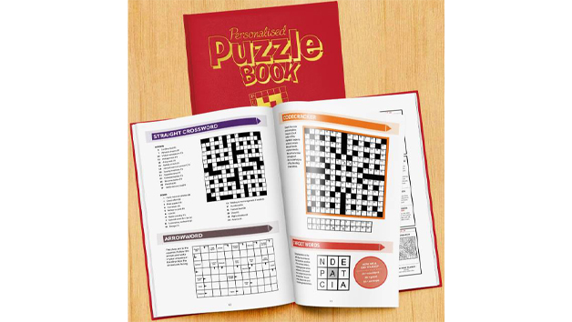 Personalised Travel Puzzle Book