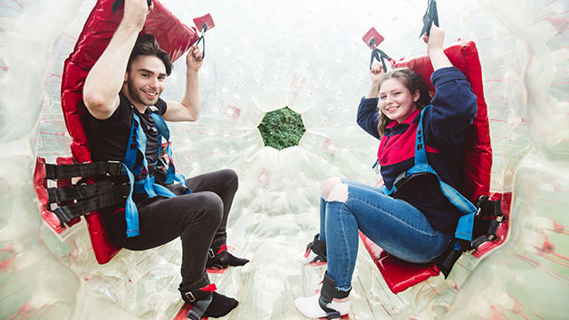 Click to view product details and reviews for Harness Zorbing Experience For Two At London South.