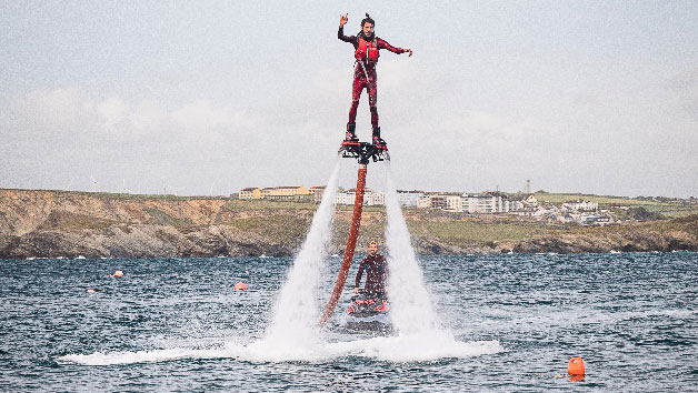 30 Minute One To One Flyingboarding Lesson For One At Fly Newquay