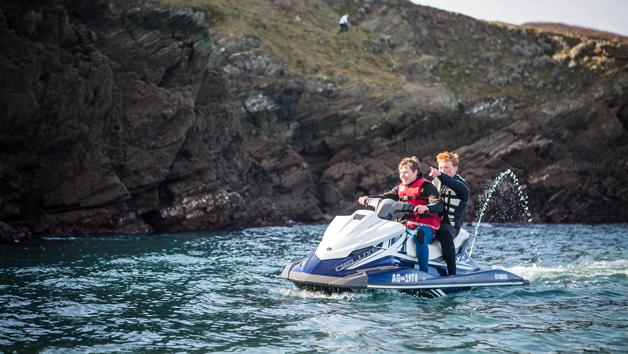 Jet Skiing Taster For Two In Newquay  Cornwall