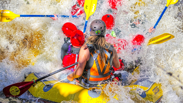 Full White Water Rafting Session For Two In Wales