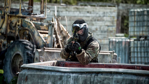 Paintballing Experience For Four And 100 Paintballs Each