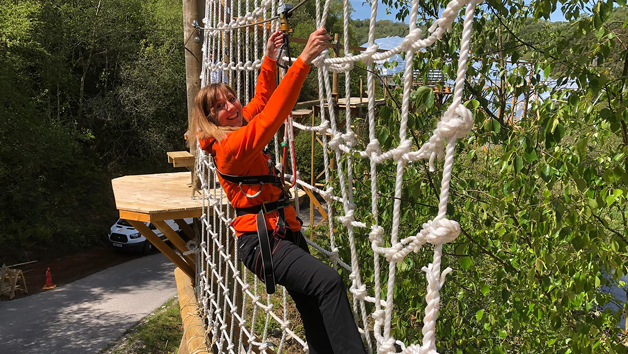 Click to view product details and reviews for Skytrek For One With Hangloose At The Eden Project.