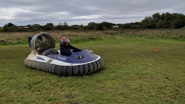 10 Lap Hovercraft Land Experience for One