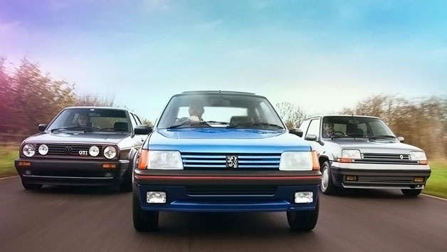 Triple Legends 80s Hot Hatch Driving Experience