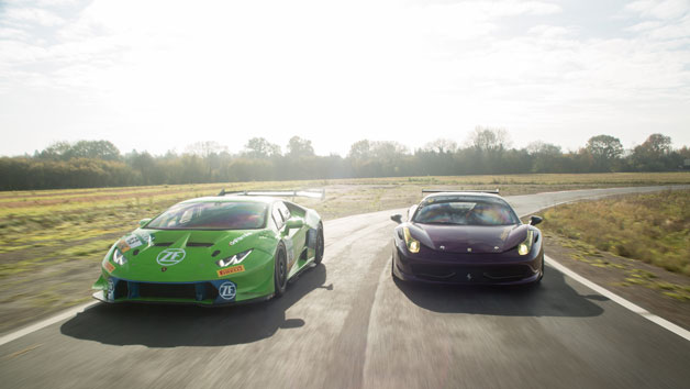 Lamborghini Vs Ferrari Race Car Driving Experience For One