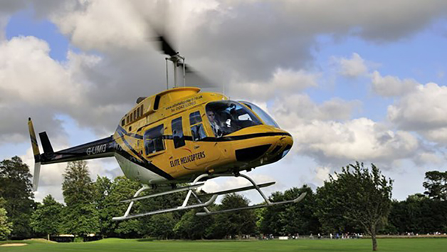 10 Minute Goodwood Helicopter Tour For One