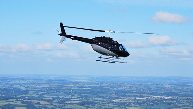 10 Minute Helicopter Tour for Two with Bubbly