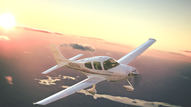 Land Away Double Flying Lesson For Two  Uk Wide