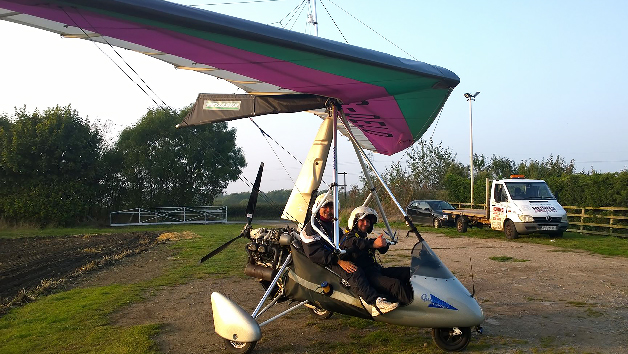 60 Minute Introductory Microlight Flying For One