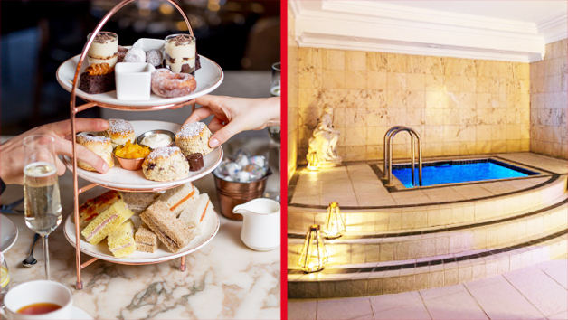 Spa Day And Afternoon Tea With Treatment At The May Fair Hotel For Two
