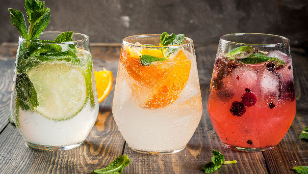 Buy Gin Afternoon Tea for Two with a Cooking Demo at The Smart School of Cookery