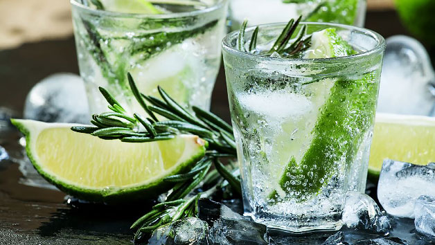 Buy Gin Tasting Experience with Canape Workshop at The Smart School of Cookery for Two