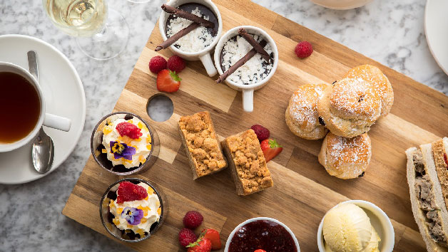 Traditional Afternoon Tea For Two At A New Forest Hotel