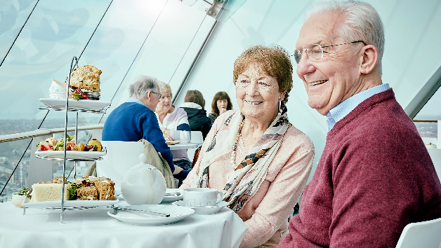 Afternoon Tea with a View at Spinnaker Tower for Two