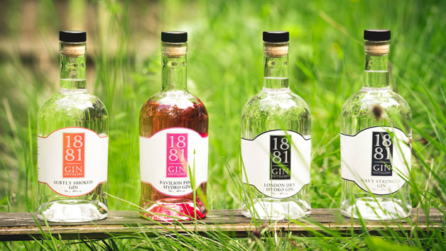 Gin Tour, Distilling Class and Bespoke Gin Making at Peebles Hydro for Two