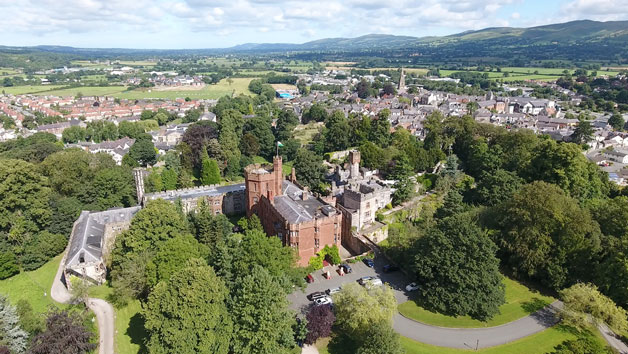 Afternoon Tea With A Bottle Of Prosecco For Two At Ruthin Castle Hotel And Spa
