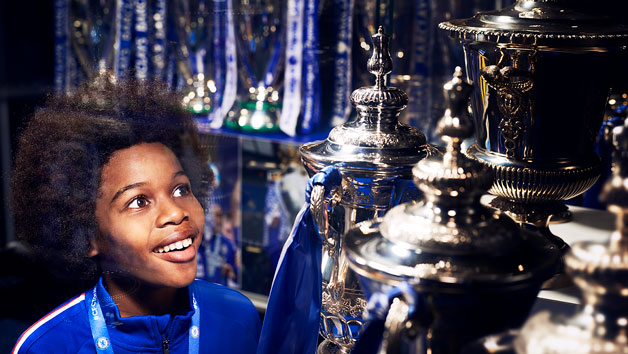 Chelsea FC Stamford Bridge Stadium Tour For One Adult And One Child