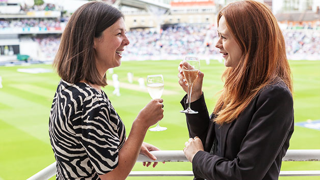 Kia Oval Cricket Match With Ground Tour And Sparkling Afternoon Tea For Two