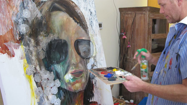 Still Life Drawing And Painting At Lyndene Bed And Breakfast