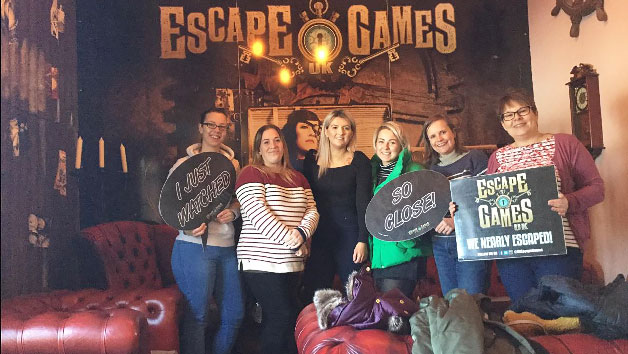 Entry To An Escape Game At Uk Escape Games For Four