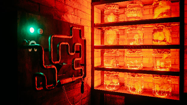 Escape Room For Two Adults And Two Children At Aim Escape