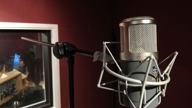 Family Professional Voice Recording Of Two Songs At Midi Madness