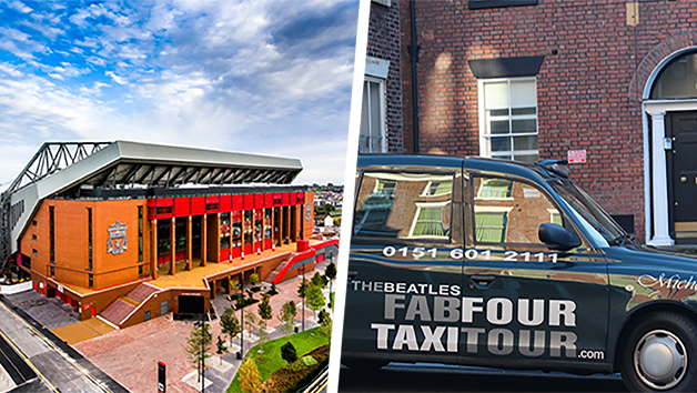 Liverpool Highlights Private Taxi Tour With Anfield Stadium Tour And Museum Entry For Two