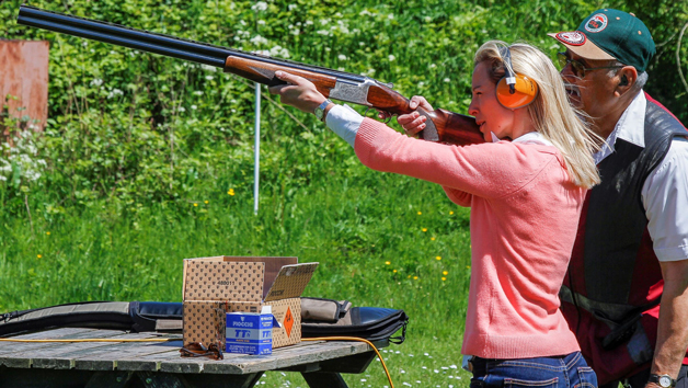 Clay And Airgun Shooting At Lea Valley Shooting Association For Two