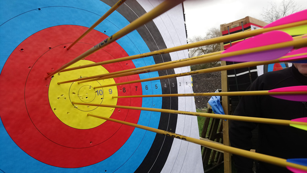 Target Archery Experience For Two People At Battle Archery