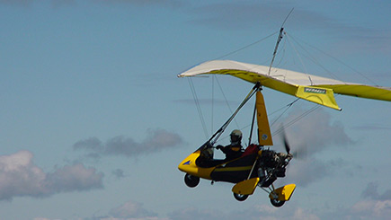 30 Minute Flex Wing Microlight Flight in Bath