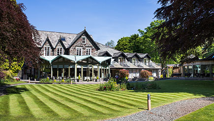 Boutique Escape with Dinner for Two at Rothay Garden Hotel, Cumbria