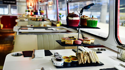 Vintage Bus Tour With Afternoon Tea For Two, Edinburgh