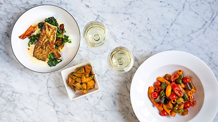 Three-Course Meal and Cocktail for Two at Gordon Ramsay's Heddon Street Kitchen