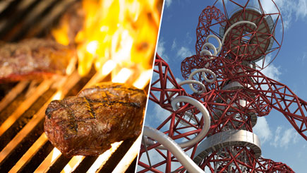 The Slide at the Arcelormittal Orbit, Meal for Two at Marco Pierre White's London Steakhouse Co