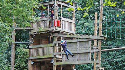 High Ropes Adventure in Essex