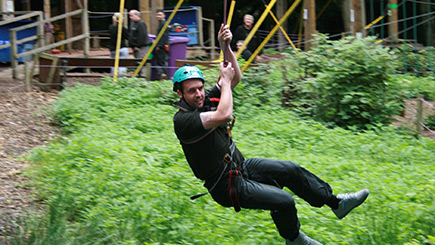 High Ropes Adventure for Two in Essex