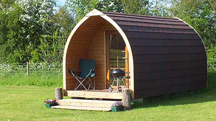 Two Night Camping Pod Break for Two in Worcestershire