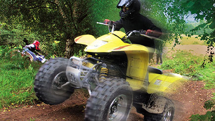 Quad Bike Safari in Pembrokeshire